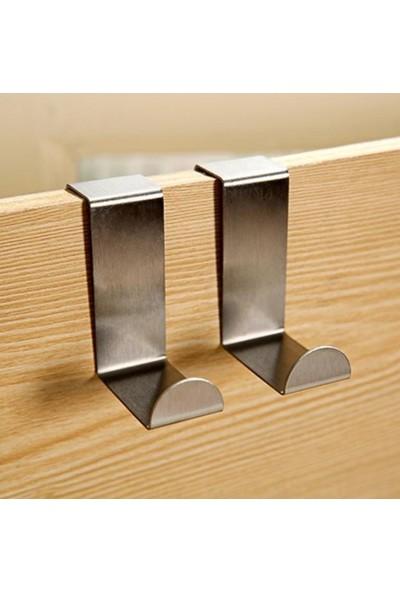 Cmt Kapı Arkası Metal Askı 4Lü Paket