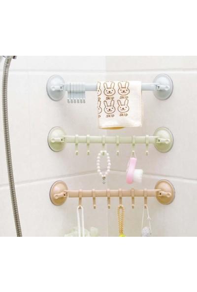 Cmt Mutfak Banyo Askısı Vantuzlu Kancalı