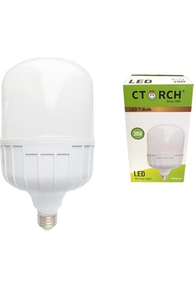 Ctorch Led Ampul 38W Beyaz Işık E27 6500K
