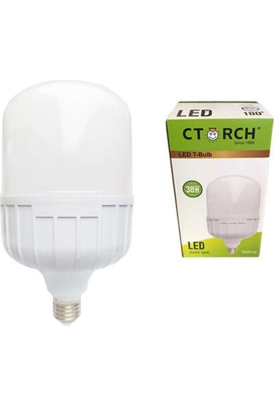 Ctorch Led Ampul 38W Sarı Işık E27 3000K