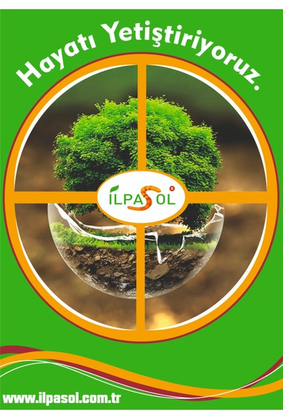 İlpasol Leonardit Organik Toprak Düzenleyici Granül Gübre 100 Kg