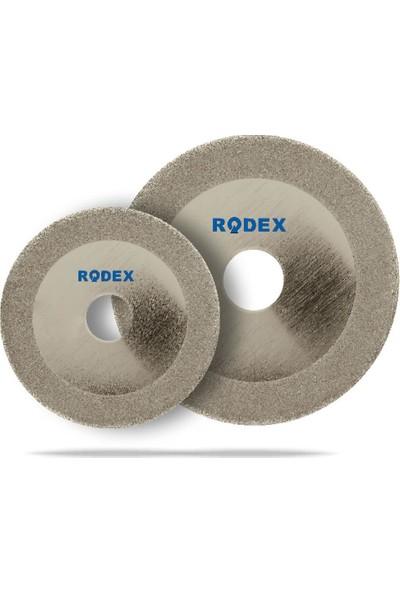 Rodex Rrc125 Cam Kesme Diski Elektrolizle Kaplı 125Mm