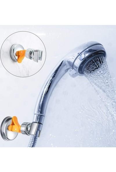Safa Güçlü Vakumlu Duş Başlığı Tutucu Askı Ayarlanabilir Vantuzlu Duş