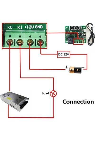 Wd Dijital Termostat 12V Akvaryum,Kuluçka Termostat Ve Kutusu