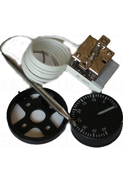 Wd Gazlı Termostat 0-40 Kabin Kümes Isı Dengeleyici Termostat
