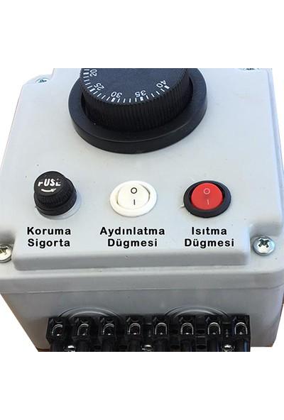 Wd Gazlı Termostat 0-40C Isı Kontrol Yüksek Voltaj Koruma 3 Farklı Çıkış Seçeneği