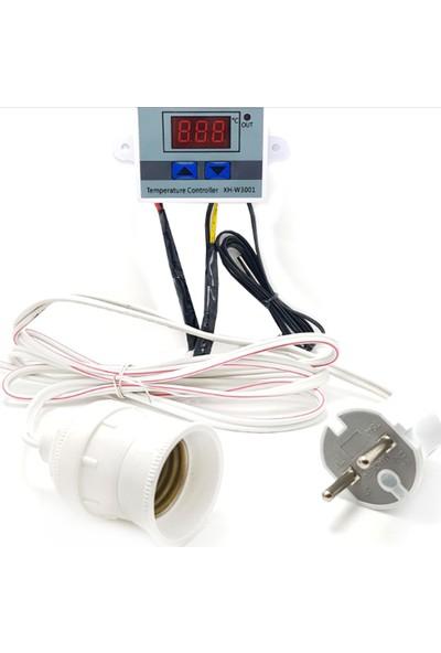 Wd Hazır Dijital Kuluçka Termostat 220 V Kurulu Kablolu Sistem