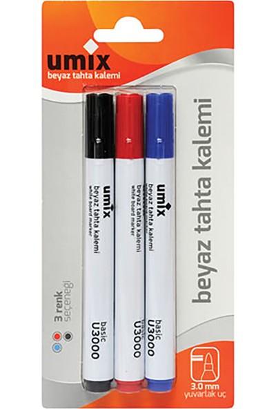 Umix Beyaz Tahta Kalemi 3'lü