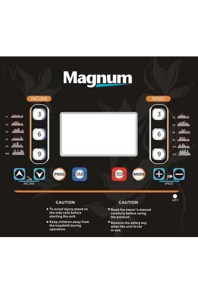 Magnum Aeson 2.60 Hp Otomatik Eğimli Mp3 Özellikli Koşu Bandı