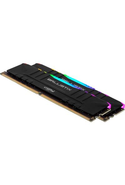 Crucial Ballistix 16GB(2x8GB) 3600MHz CL16 RGB DDR4 PC Ram BL2K8G36C16U4BL