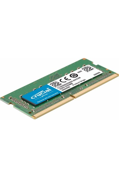 Crucial 16GB 2666MHz SODIMM DDR4 Ram CT16G4S266M