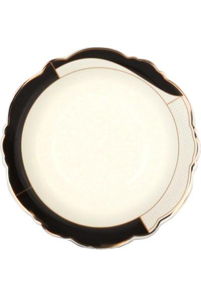 Acar Mariposa Gold Benek 24 Parça Porselen Yemek Takımı