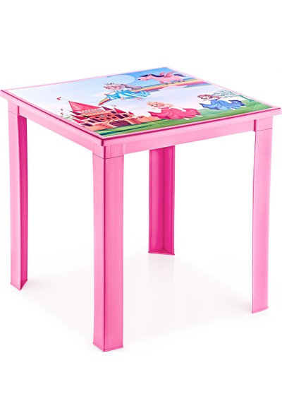 Fiore Çocuk Masası Resimli H50 3 - 7 Yaş