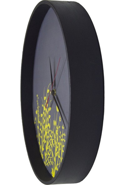 Akyıldız Tasarım Lotus Duvar Saati AKS30-B11