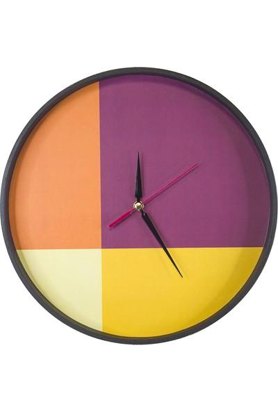 Akyıldız Tasarım Dinamik Duvar Saati AKS30-B17