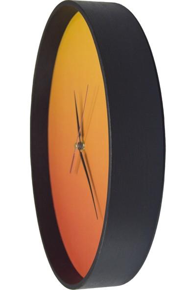 Akyıldız Tasarım Ekvator Duvar Saati AKS30-B13