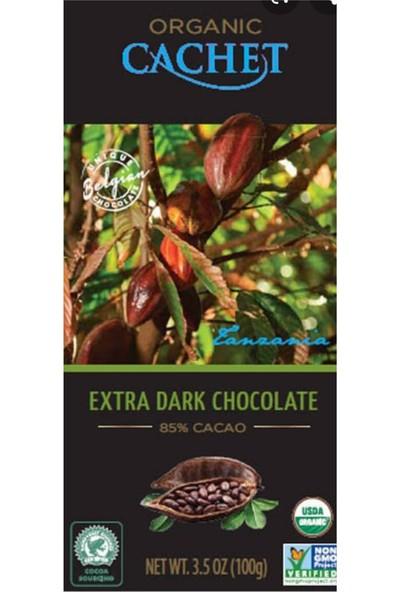 Cachet Extra Dark Chocolate 100 gr