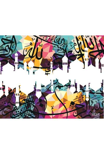 Plus Hobby SB37 Modern Arabic Sayılarla Boyama Seti 40 x 50 cm