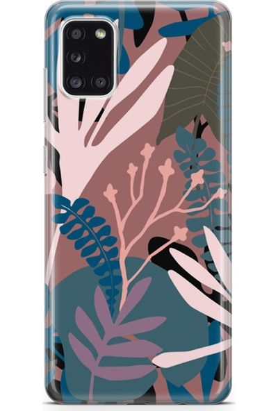 Melefoni Samsung Galaxy A31 Kılıf Leaf Serisi Kimberly