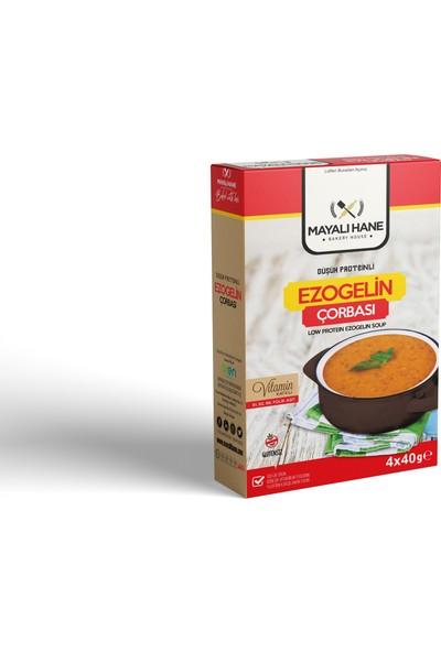 Mayalı Hane Düşük Proteinli Ezogelin Çorbası 4 x 40 gr