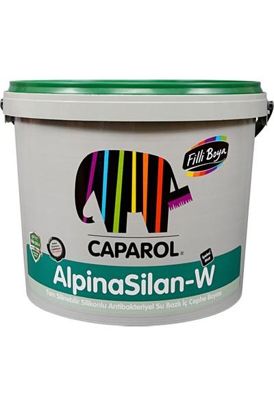 Filli Boya Alpinasilan-W Antibakteriyel İpeksi Mat Silikonlu İç Cephe Boyası 15 lt Andezit 45