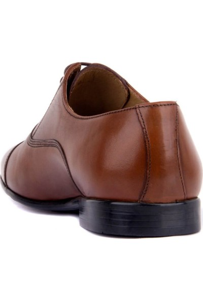 Fosco Bağcıklı Taba Deri Erkek Klasik Ayakkabı 9102 45
