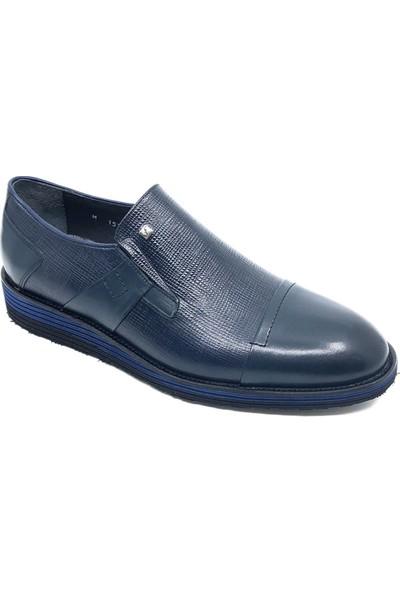 Fosco Lacivert Deri Erkek Ayakkabı 1533 44 240