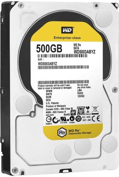 """WD Caviar Black 3.5"""" 500GB 7200RPM Sata 3 Hard Disk WD5003ABYZ"""