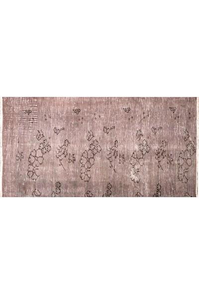 Grand Hedef Halı Pudra Renk Vintage El Dokuma Halısı 80 x 150 cm