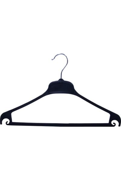 Detay Temizlik Ev Tipi Plastik Kancalı Kıyafet Askısı 24