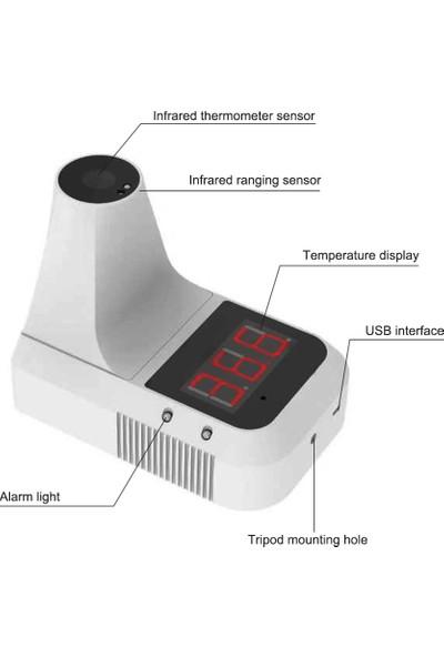 Buyfun Temassız Kızılötesi Termometre Otomatik Akıllı Alın (Yurt Dışından)