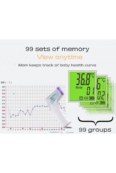 Buyfun Termometre Kızılötesi Dijital LCD Vücut Ölçüm Alın (Yurt Dışından)