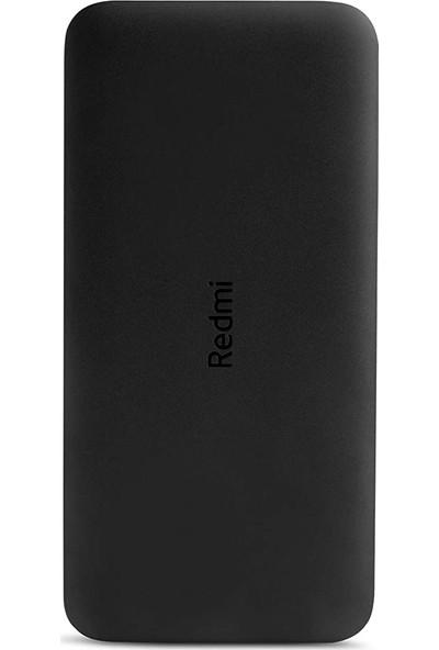 Xiaomi Redmi 20000 Mah Taşınabilir Hızlı Şarj Cihazı - USB-C - 18W 2 Çıkışlı Powerbank - Siyah