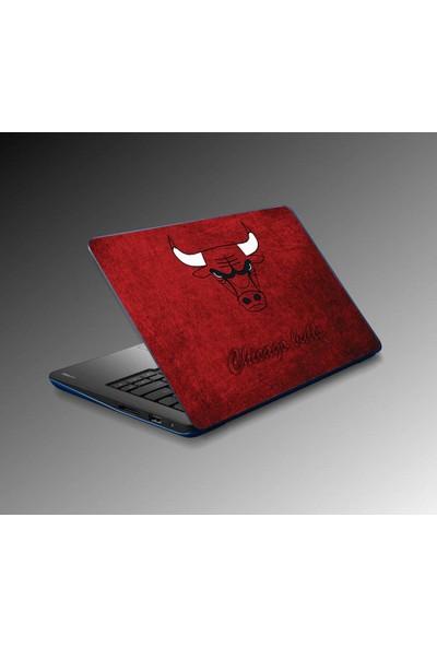 Jasmin Laptop Sticker Chicago Bulls
