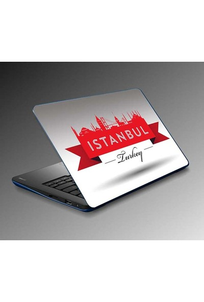 Jasmin Laptop Sticker Istanbul Sticker Yapıştırma Notebook Sticker