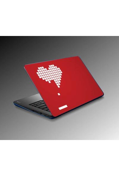 Jasmin Laptop Sticker Heart Gaming