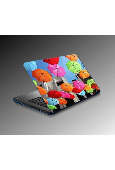 Jasmin Notebook Laptop Sticker Renkler Yapıştırma Kapak Süsü