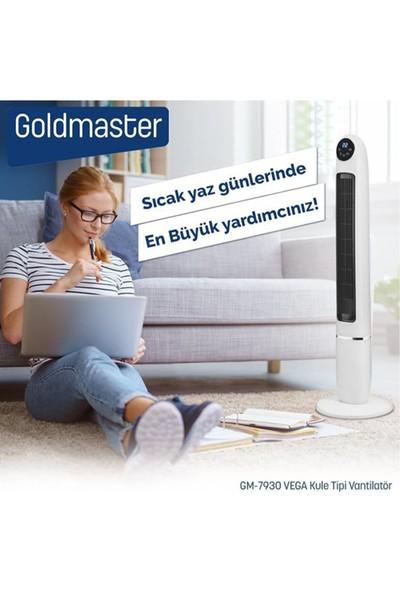 Goldmaster GM-7930 Vega Uzaktan Kumandalı Kule Tipi Vantilatör
