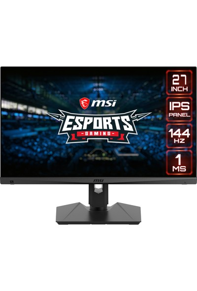 "MSI Optix MAG274R 27"" 144Hz 1ms (HDMI+Display+Type-C) FreeSync IPS Full HD LED Monitör"