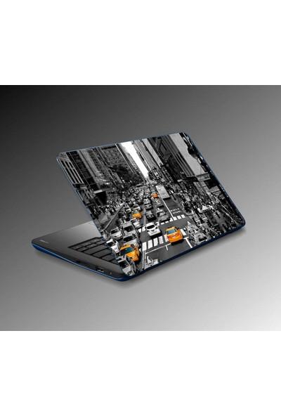 Jasmin Notebook Laptop Sticker New York City Yapıştırma Kapak Süsü