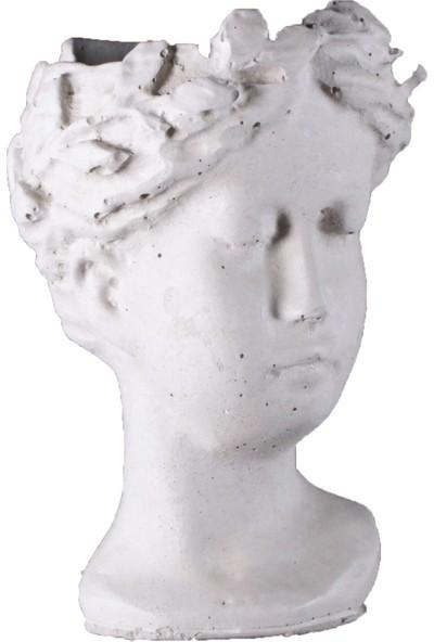 Ercans Garden Dekoratif Saksı Küçük Helen 8 x 8 x 6 cm