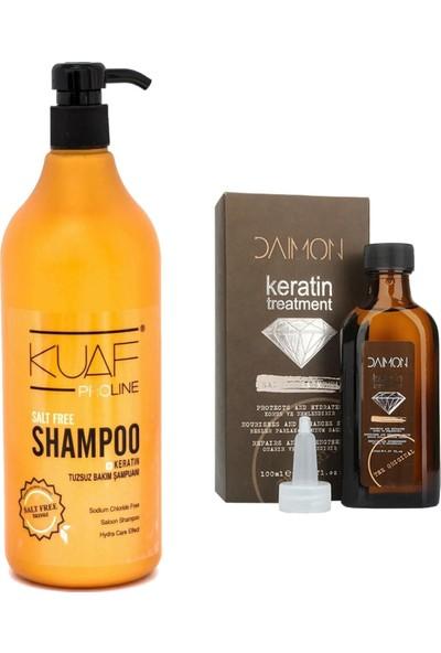 Kuaf Tuzsuz Şampuan 1000 ml + Daimon Keratin Yağı 100 ml