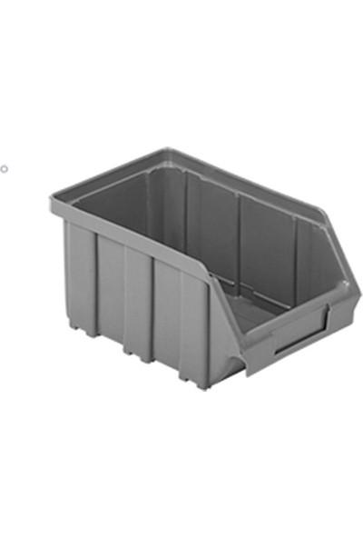 Hipaş Plastik Avadanlık Kutuları A 100 Gri 5'li