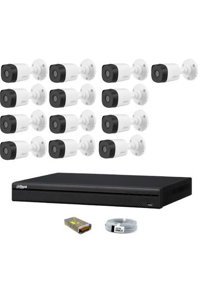 Dahua 13 Kameralı Güvenlik Sistemi Dış-Mekan-Jack-Bnc-Konnektör Proje Kamera