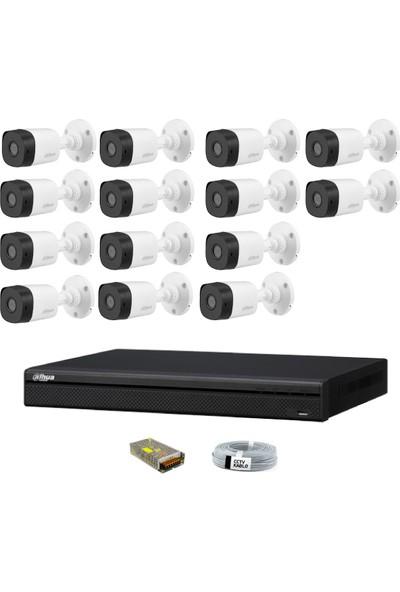 Dahua 14 Kameralı Güvenlik Sistemi Dış-Mekan-Jack-Bnc-Konnektör Proje Kamera