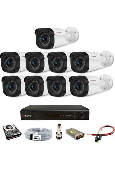 Cenova 9'lu 2mp Ahd Güvenlik Kamerası Full Paket Sistem
