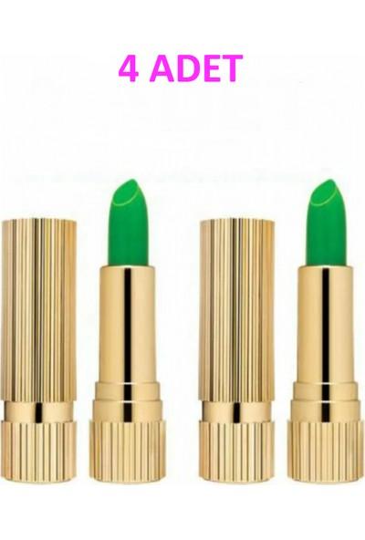 Ocean Sihirli Ruj Magic Lipstick 24 Saat Kalıcı 4 Adet PINKROSE125