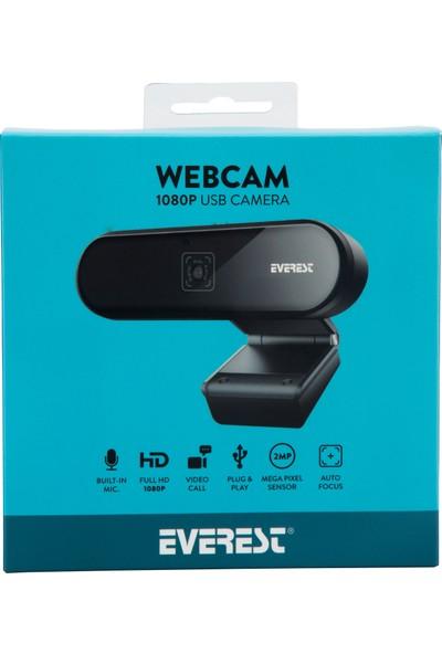 Everest SC-HD01 1080P Full Hd Webcam