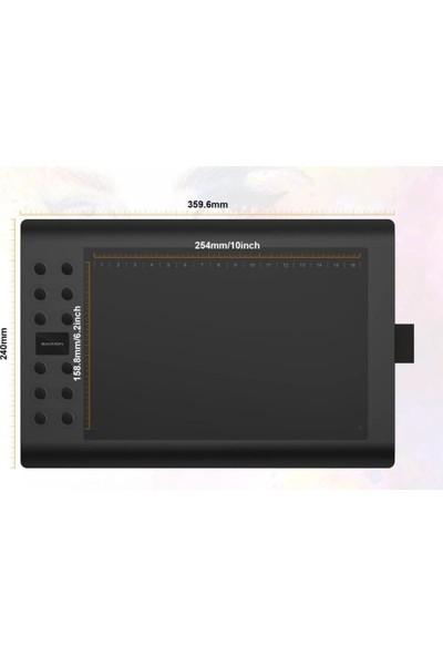 """Gaomon M106K 10 x 6 """" Dijital Grafik Kalem Tablet Boyama"""