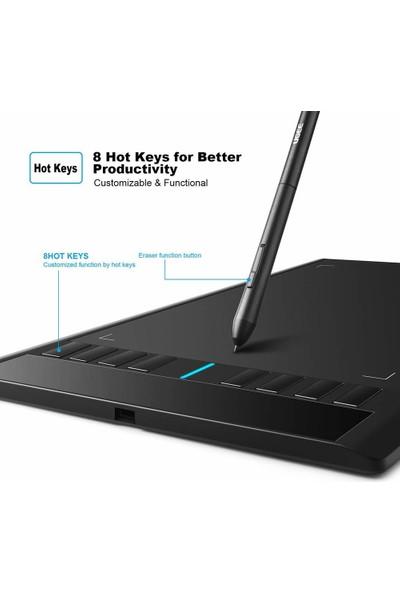 Ugee M708 Grafik Tablet, 10 x 6 Inc Büyük Çizim Masası